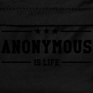 Anonymous is life T-Shirts - Kinder Rucksack