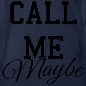 Call me maybe Shirts - Baby bio-rompertje met korte mouwen