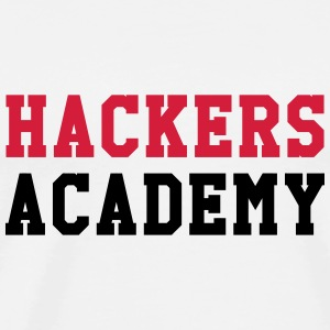 Hackers Academy Sweaters - Mannen Premium T-shirt