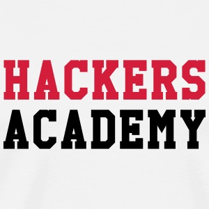 Hackers Academy Mugs & Drinkware - Men's Premium T-Shirt