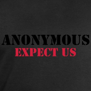 Anonymous : Expect us T-shirts - Mannen sweatshirt van Stanley & Stella