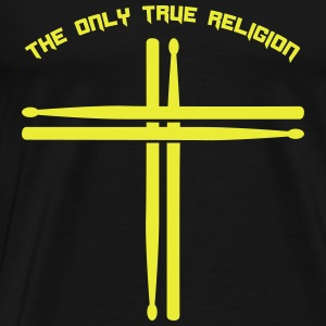 True Religion - Männer Premium T-Shirt