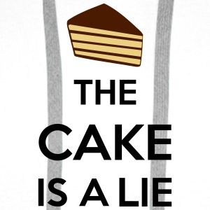 The Cake Is A Lie Handy & Tablet Hüllen - Männer Premium Hoodie