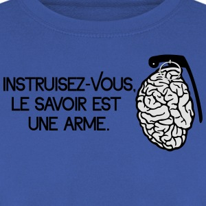 Le savoir est une arme - knowledge is a weapon Koszulki - Bluza męska