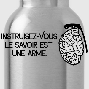 Le savoir est une arme - knowledge is a weapon Koszulki - Bidon