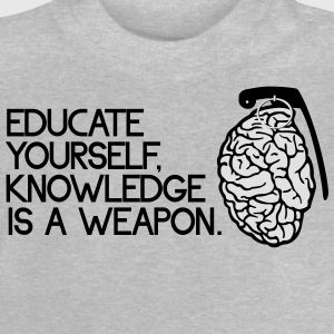 knowledge is a weapon T-shirts - Baby T-shirt