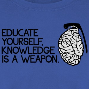 knowledge is a weapon Koszulki - Bluza męska