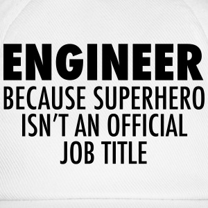 Engineer T-Shirts - Baseballkappe