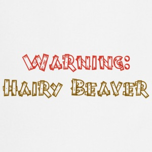 Warning hairy beaver - Cooking Apron