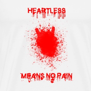Pin's Heartless 25 mm - T-shirt Premium Homme