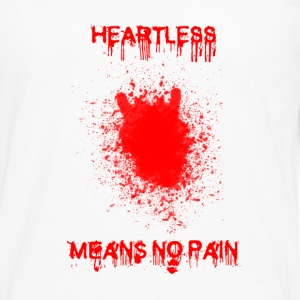 Pin's Heartless 25 mm - T-shirt manches longues Premium Homme