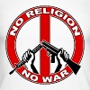 No  religion no war Long sleeve shirts - Men's Long Sleeve Baseball T-Shirt