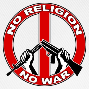 No  religion no war Hoodies & Sweatshirts - Baseball Cap