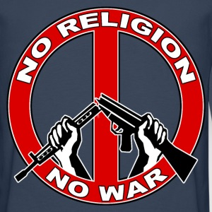 No  religion no war Sweat-shirts - T-shirt manches longues Premium Homme