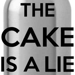 The Cake Is A Lie Bags & Backpacks - Water Bottle