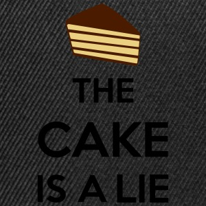 The Cake Is A Lie T-Shirts - Snapback Cap
