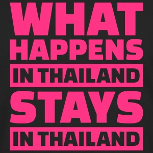 What happens in Thailand stays in Thailand T-Shirts - Männer Premium Langarmshirt