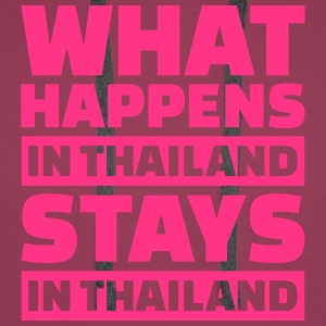 What happens in Thailand stays in Thailand T-Shirts - Männer Premium Hoodie
