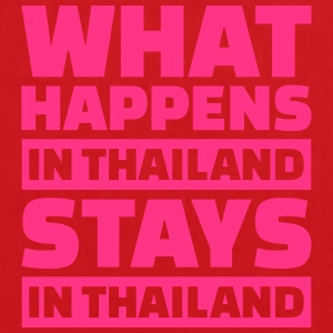 What happens in Thailand stays in Thailand T-Shirts - Stoffbeutel