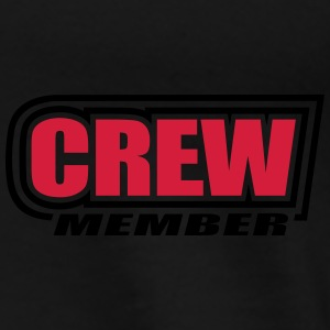 Crew Member sailing sailboat sail boat sailor team Hoodies & Sweatshirts - Men's Premium T-Shirt