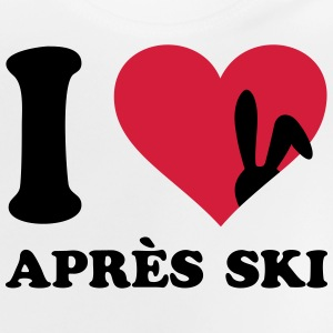 après-ski Après ski Sayings ski party Shirts - Baby T-Shirt