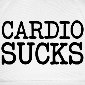 Cardio Sucks T-shirts - Baseballkasket