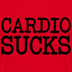 Cardio Sucks Sweaters - Mannen T-shirt