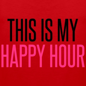 Happy Hour Hoodies & Sweatshirts - Men's Premium Tank Top