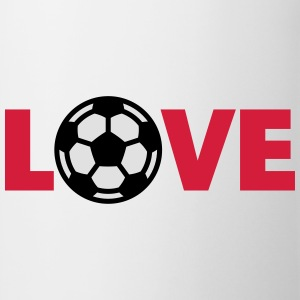 Football – Love (I Love Football) Tee shirts - Tasse
