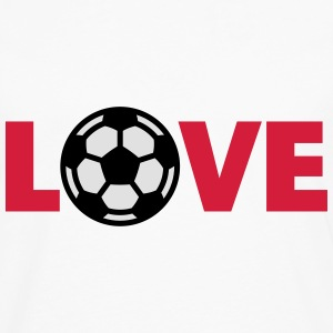 Football – Love (I Love Football) Tee shirts - T-shirt manches longues Premium Homme