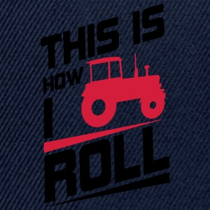 This is how I roll T-Shirts - Snapback Cap