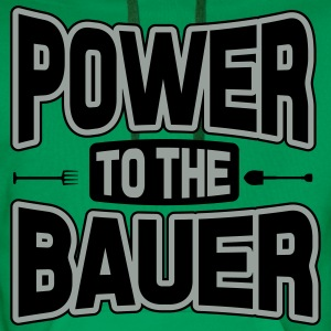 Power to the Bauer T-Shirts - Men's Premium Hoodie