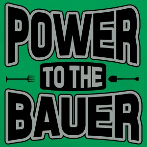 Power to the Bauer T-Shirts - Retro Bag