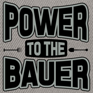 Power to the Bauer T-Shirts - Snapback Cap