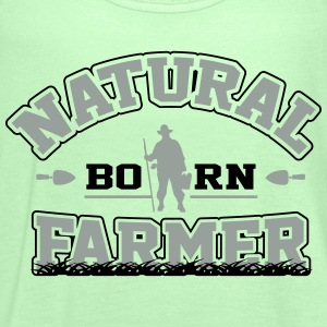 Natural born farmer T-Shirts - Women's Tank Top by Bella
