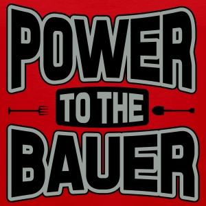 Power to the Bauer T-Shirts - Men's Premium Tank Top