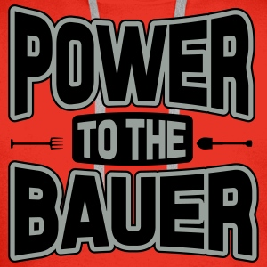 Power to the Bauer Shirts - Men's Premium Hoodie