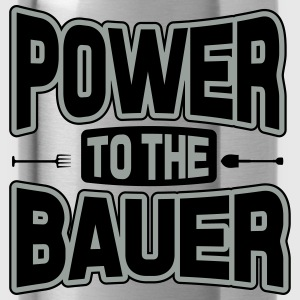 Power to the Bauer Shirts - Water Bottle