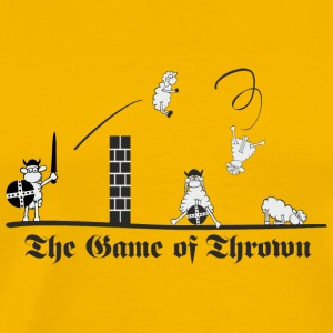 Sheepish Game of Thrown Tassen & Zubehör - Männer Premium T-Shirt