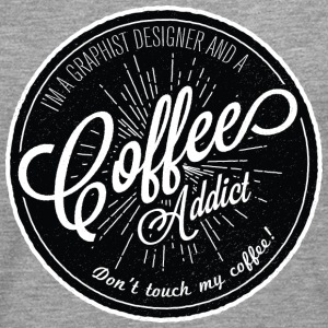 coffee addict  T-Shirts - Men's Premium Longsleeve Shirt