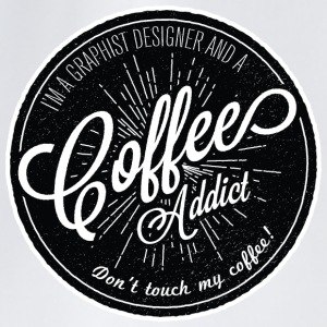 coffee addict  Mugs & Drinkware - Drawstring Bag