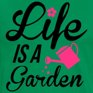 Life is a Garden Tabliers - T-shirt Premium Homme