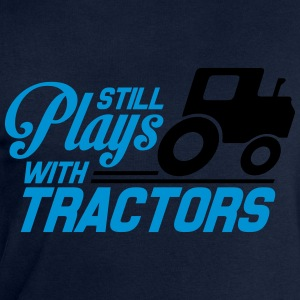 Still plays with tractors T-shirts - Mannen sweatshirt van Stanley & Stella