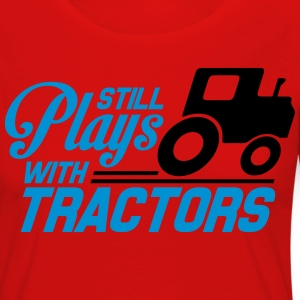 Still plays with tractors T-Shirts - Women's Premium Longsleeve Shirt