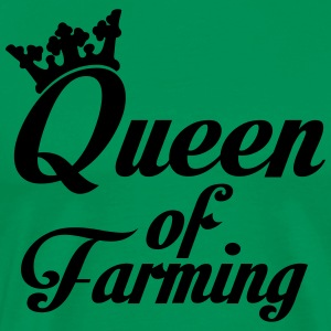 Queen of Farming Delantales - Camiseta premium hombre