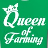 Queen of Farming T-Shirts - Women's Ringer T-Shirt