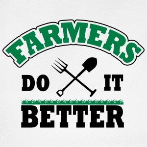 Farmers do it better T-skjorter - Baseballcap