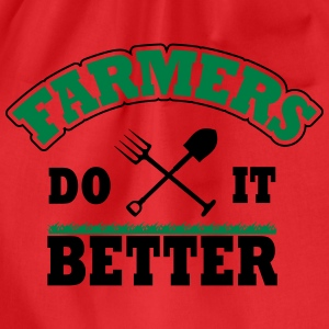 Farmers do it better Shirts - Drawstring Bag