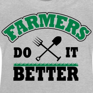 Farmers do it better Camisetas - Camiseta bebé