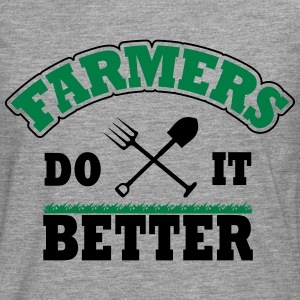 Farmers do it better Skjorter - Premium langermet T-skjorte for menn